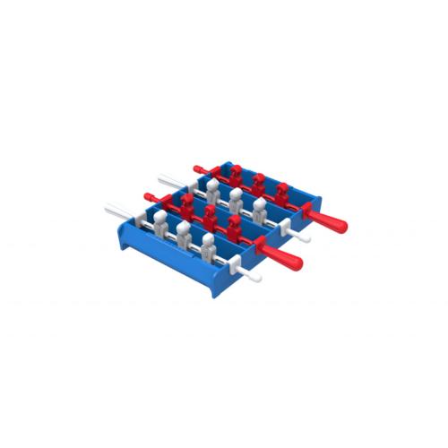 מגש קרח בעיצוב שולחן כדורגל