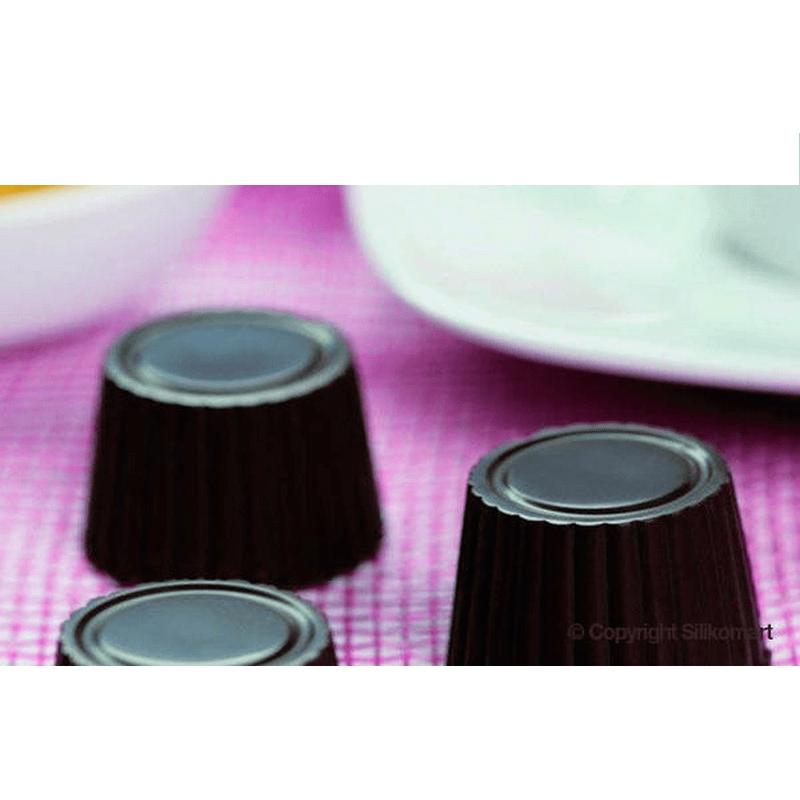 תבנית סיליקון שוקולד 15 שקעים PRALINE