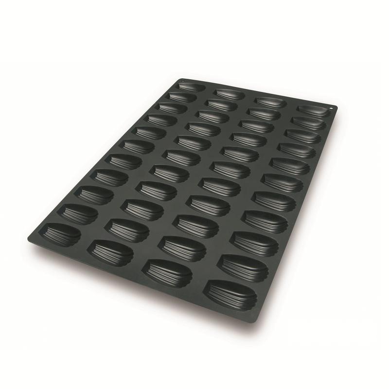 """תבנית סיליקון 40X60 ס""""מ מדלן 44 שקעים"""