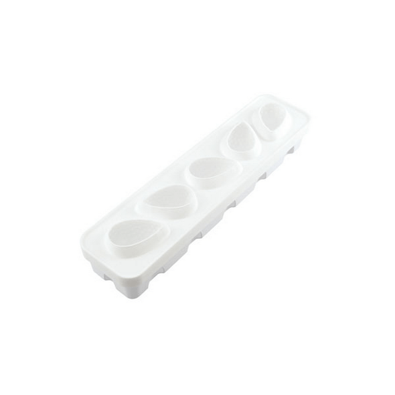 תבנית סיליקון 5 שקעים תות שדה