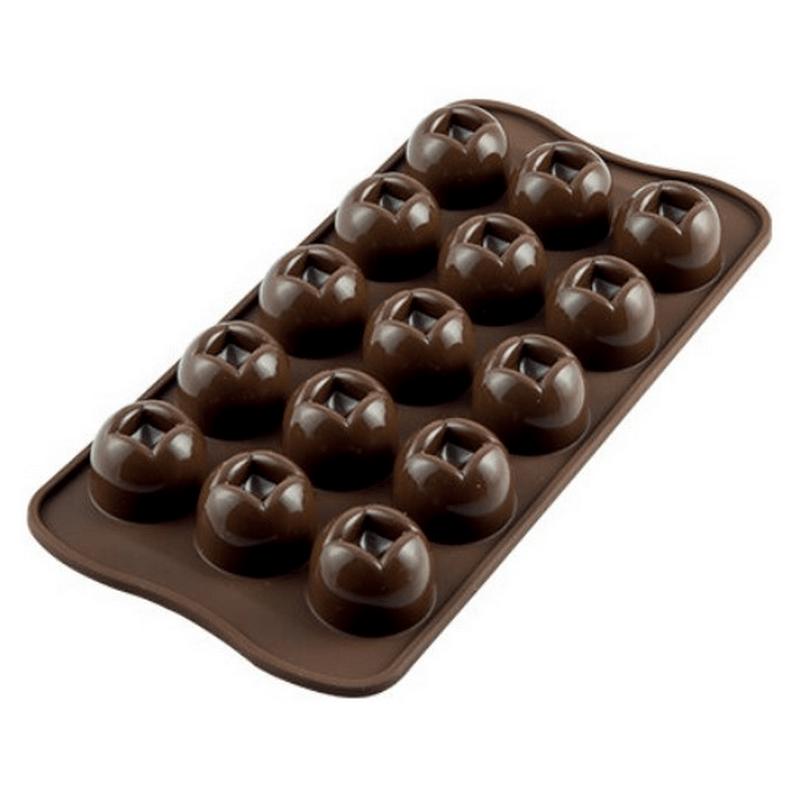 תבנית סיליקון שוקולד 15 שקעים Imperial