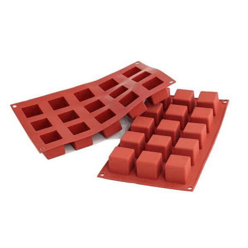 תבנית סיליקון קוביות 15 שקעים