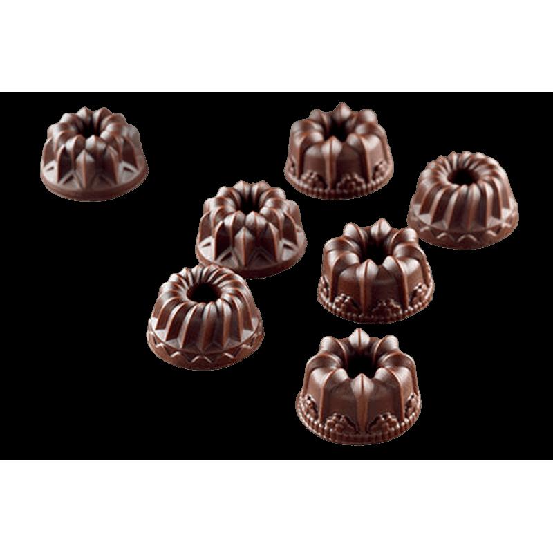 תבנית סיליקון לשוקולד s19 פנטזיה 15 שקעים